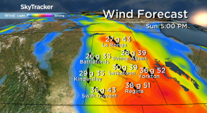 Saskatoon weather outlook: from thunderstorms to cool winds and sun