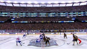 Boston Bruins and Montreal Canadiens face off at NHL Winter Classic