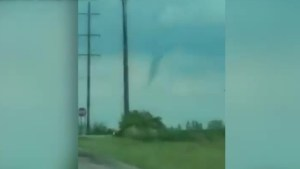 Funnel cloud spotted over Detroit area