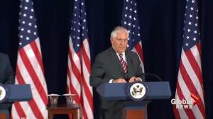 Rex Tillerson says China must exert more pressure on North Korea