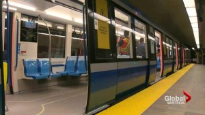 Montreal's new metro cars