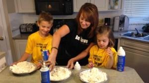 Whip cream challenge