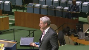 Highlights from Harper's address to UN General Assembly