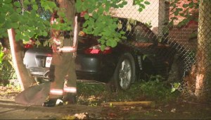 Driver crashes Porsche into Etobicoke home