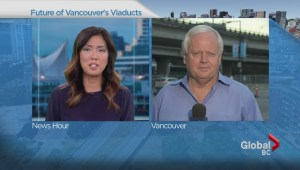 Vancouver city planners recommend tearing down viaducts