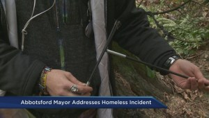 Abbotsford mayor addresses latest incident involving city's homeless
