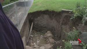 Kamloops residents dig out after summer storm