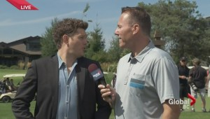 Michael Buble at annual Vancouver Giants golf tournament
