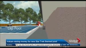 Vulcan seeks to raise money for new Star Trek-themed pool