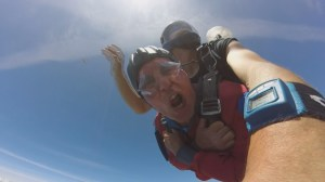 Free-fall festival takes to airfield in Vernon