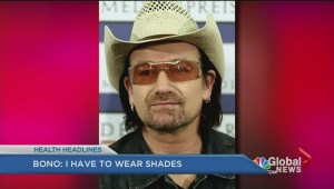 Bono: I have to wear shades