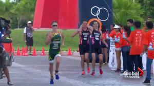 Alistair Brownlee puts brotherly love first at triathlon finish line