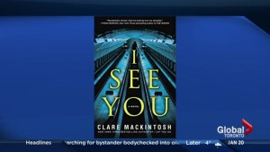 Bestselling author Clare Mackintosh's new book, 'I See You'