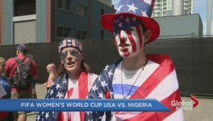FIFA Women's World Cup match draws thousands of fans north of the border