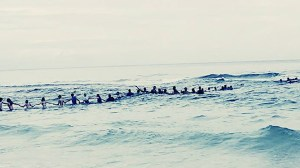 80-person human chain forms to rescue swimmers stuck in Florida riptide