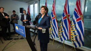 Clark to stay on for BC premier…for now