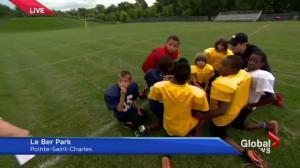 Pointe-Saint-Charles football fundraiser