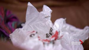 New initiative repurposing thousands of plastic bags and helping the homeless