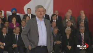 Harper talks tough on Russia, ISIS, and Hamas