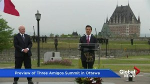 Preview of 'Three Amigos Summit' in Ottawa