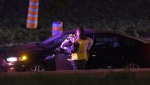 RAW: Accident on Autoroute 13