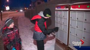 Alberta family finds spirit of Christmas through the mailbox