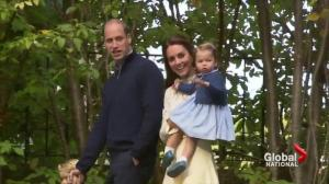 First official engagement for Prince George and Princess Charlotte at Victoria children's party