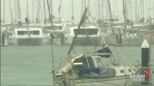 Cyclone Debbie batters far north Australia