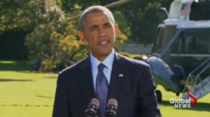 Obama says American airstrikes against ISIS were supported by 5 Arab states