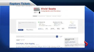 Family receiving refund after Global News investigates bogus Raptors tickets