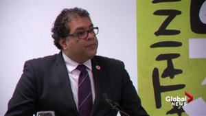 Calgary Mayor Naheed Nenshi says 'we will always stand up to hatred'