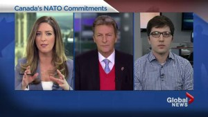 Will Canada commit to spending more as per the NATO commitment?