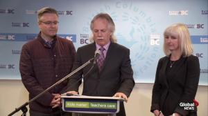 We fundamentally disagree with decision: BCTF President Jim Iker
