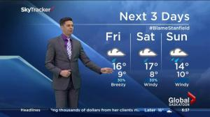 Saskatoon weather outlook – September 4