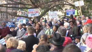 Thousands rally across the U.S. in support of Obamacare