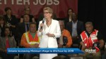 Low-income Ontario workers rejoice, small businesses concerned as $15 minimum wage announced