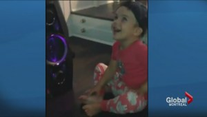 Montreal toddler hears music for the first time