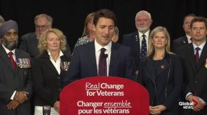 Justin Trudeau talks about his family's military past