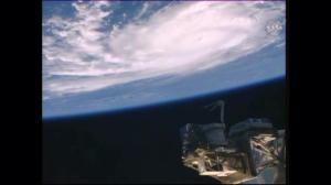 View of Hurricane Danny from the International Space Station