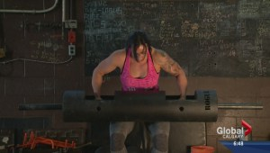 Calgary's Allison Lockhart shows what made her Canada's strongest woman