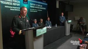Canadian Armed Forces release progress report on efforts to combat sexual harassment