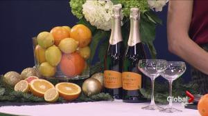 Light and refreshing Prosecco cocktails for the holidays