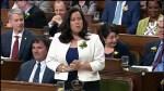 Maryam Monsef seen laughing at Michael Cooper's rage
