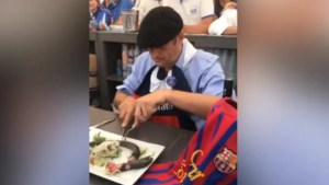 French mayor eats rat in front of cheering residents after losing soccer bet