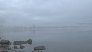 Fog and rain in Kitimat ahead of expected weekend storm