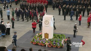 Raw Video: Thousands attend Saskatoon's Remembrance Day service