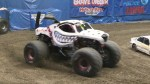 Female monster truck driver at B.C. Place this weekend