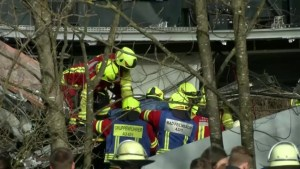 At least nine dead, 150 injured in German train collision