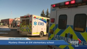 Students taken to hospital after mystery illness befalls Calgary school