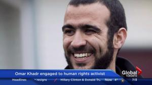Omar Khadr engaged to human rights activist